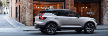 Volvo introduces new XC40